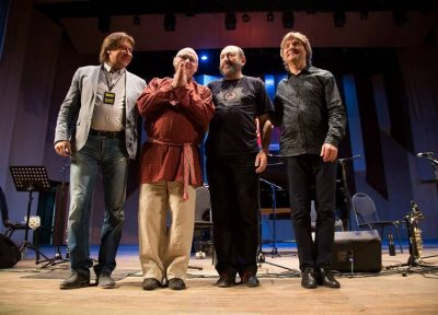 В Воронеже выступил уникальный джазовый коллектив Moscow Art Trio